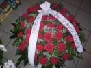 Wience i wiązanki pogrzebowe